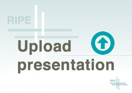 Upload presentation